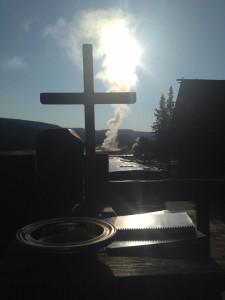Yellowstone church service