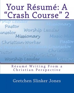 Résumé writing from a Christian perspective
