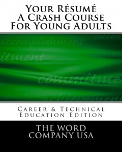 Résumé writing for young adults, including FFA CDE