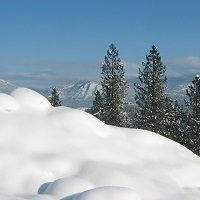 Quartzite Snow View