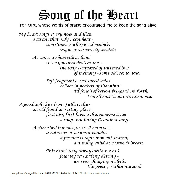 Song Of The Heart Christian Mountain Living
