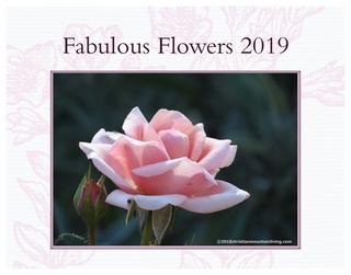 2019 Fabulous Flowers Calendar