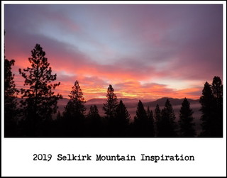 2019 Selkirk Mountain Inspiration Calendar